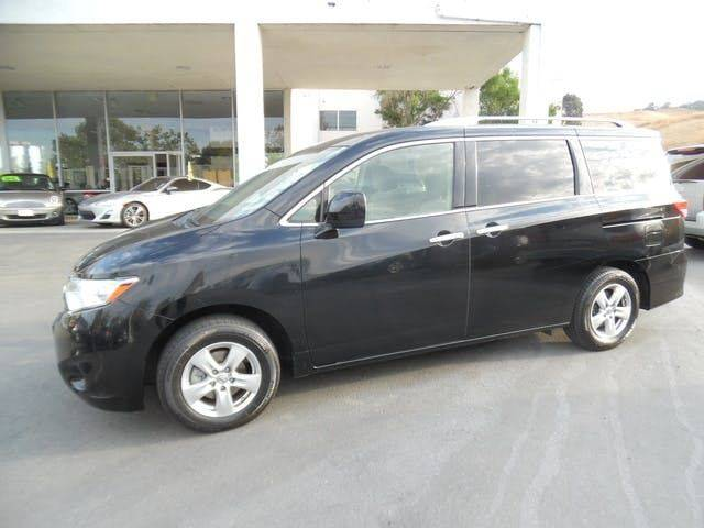 2016 NISSAN QUEST 35 SV 4DR MINI VAN black need financing we can help call now call today ca