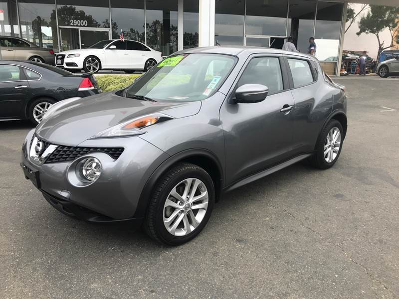 2016 NISSAN JUKE S AWD 4DR CROSSOVER gray need financing we can help call now call today call