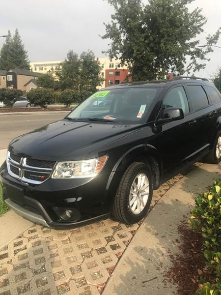 2016 DODGE JOURNEY SXT 4DR SUV black need financing we can help call now c