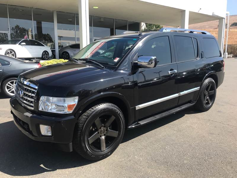 2009 INFINITI QX56 BASE 4X2 4DR SUV black need financing we can help call now call today call