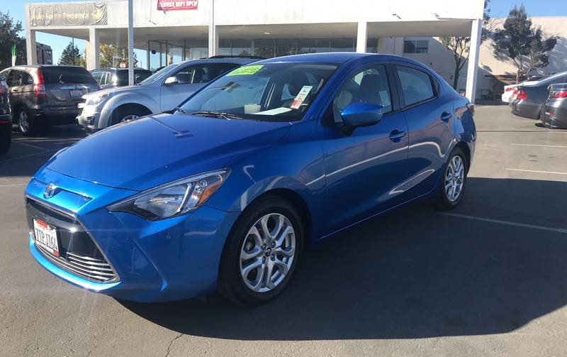 2017 TOYOTA YARIS IA BASE 4DR SEDAN 6A blue need financing we can help call now call today ca