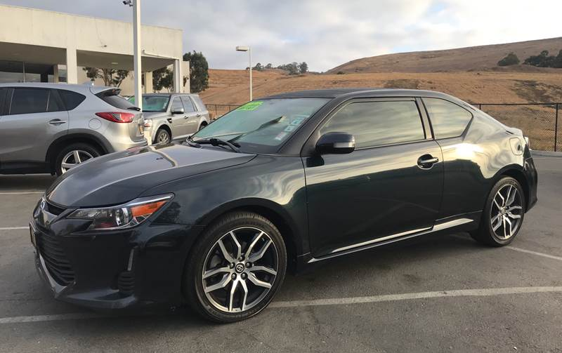 2015 SCION TC BASE 2DR COUPE 6A blue need financing we can help call now c