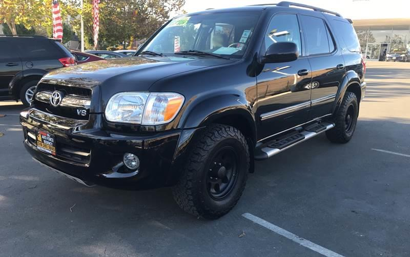 2006 TOYOTA SEQUOIA SR5 4DR SUV black need financing we can help call now call today call the