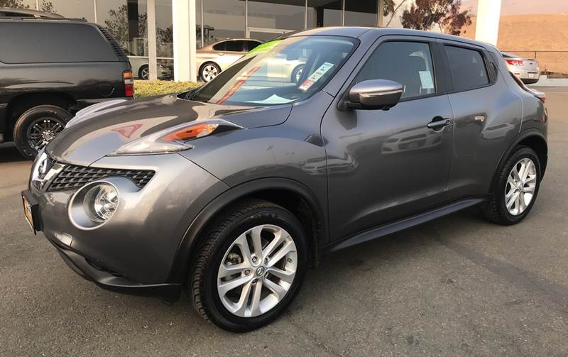 2015 NISSAN JUKE SV AWD 4DR CROSSOVER gray need financing we can help call