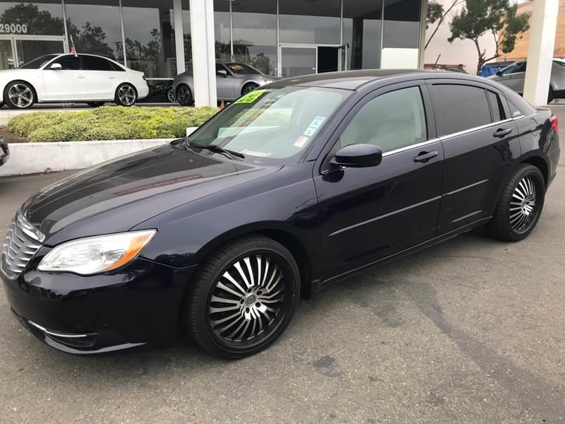2012 CHRYSLER 200 LX 4DR SEDAN blue need financing we can help call now ca