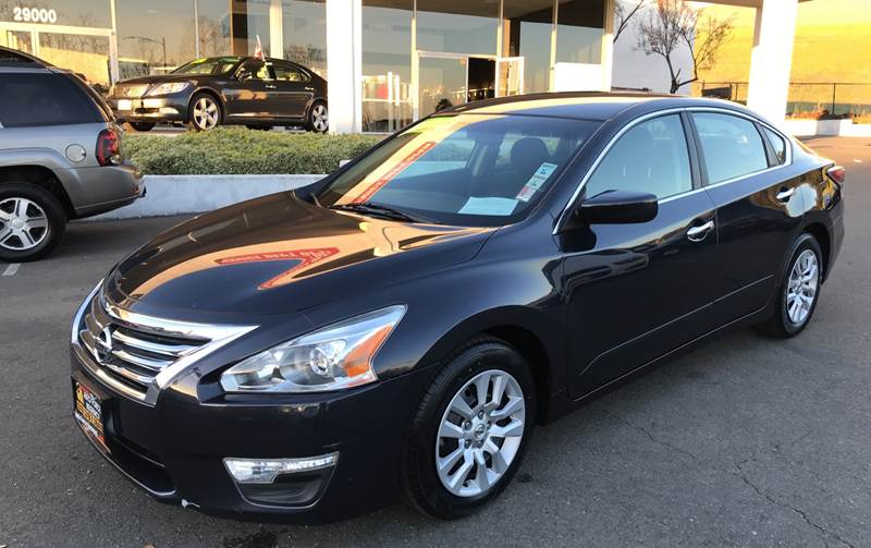 2014 NISSAN ALTIMA 25 S 4DR SEDAN blue need financing we can help call now