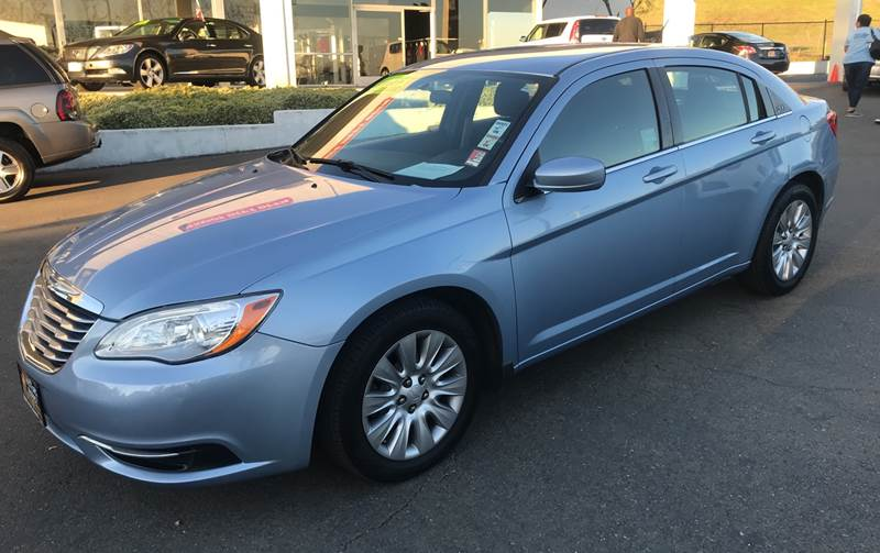 2014 CHRYSLER 200 LX 4DR SEDAN blue need financing we can help call now ca