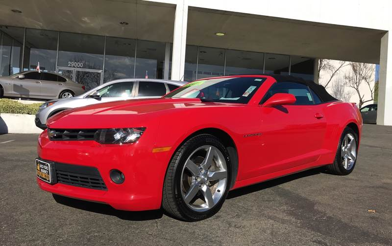 2014 CHEVROLET CAMARO LT 2DR CONVERTIBLE W1LT red need financing we can help call now call to
