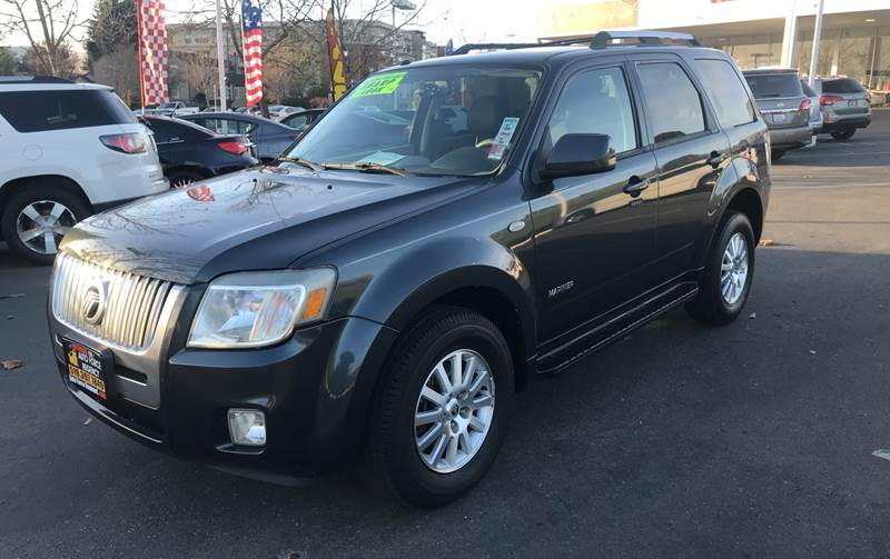 2008 MERCURY MARINER PREMIER 4DR SUV gray need financing we can help call now call today call