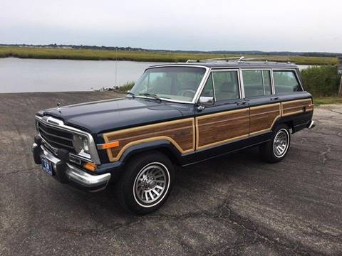 1989 Jeep Grand Wagoneer for sale in Westbrook, CT