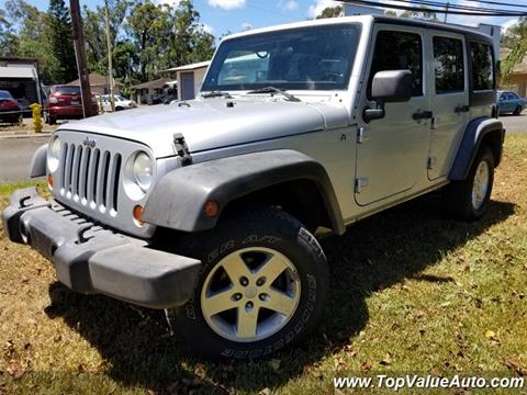 2012 Jeep Wrangler Unlimited for sale in Wahiawa, HI