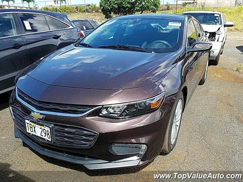 2016 Chevrolet Malibu for sale in Wahiawa, HI