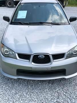2006 Subaru Impreza for sale at Doyle's Auto Sales and Service in North Vernon IN