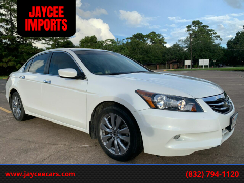 2012 Honda Accord for sale at JAYCEE IMPORTS in Houston TX
