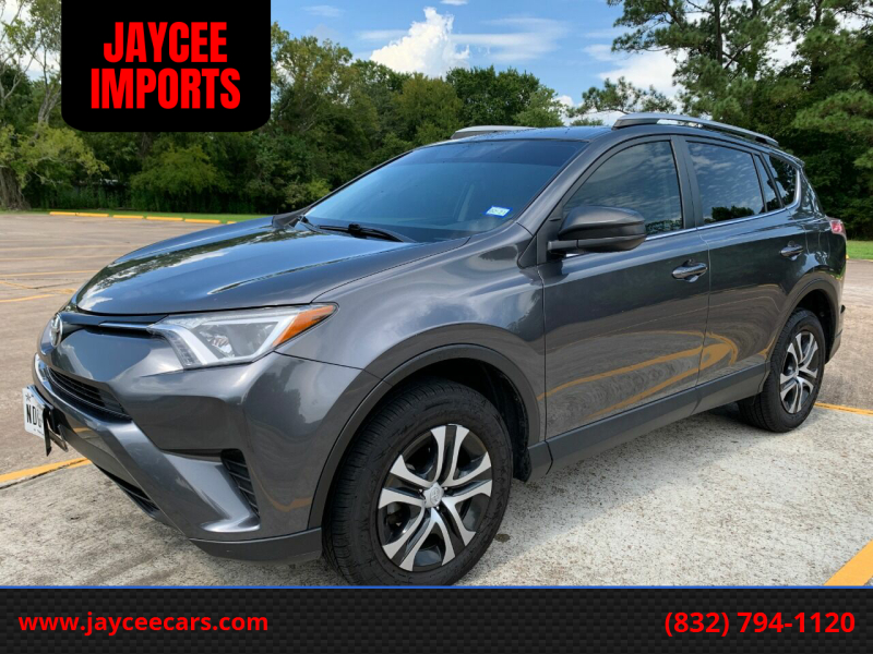 2016 Toyota RAV4 for sale at JAYCEE IMPORTS in Houston TX