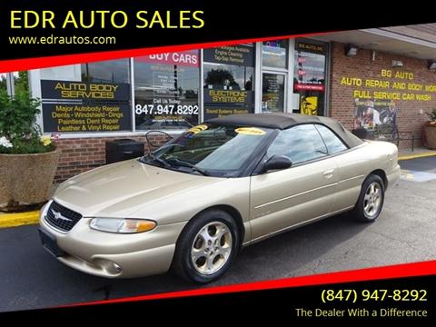 1999 chrysler sebring for sale carsforsale com rh carsforsale com Chrysler Sebring LXI Coupe 1999 Chrysler Sebring Convertible