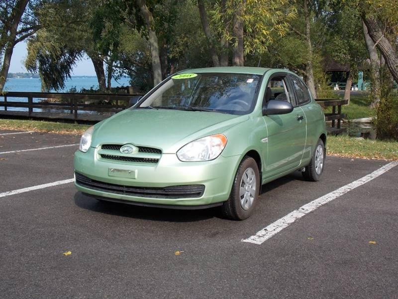 2008 Hyundai Accent For Sale At Your Choice Auto Sales In North Tonawanda NY