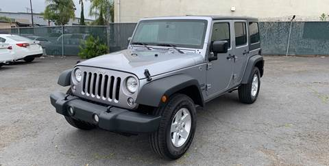 2018 Jeep Wrangler Unlimited for sale in San Diego, CA