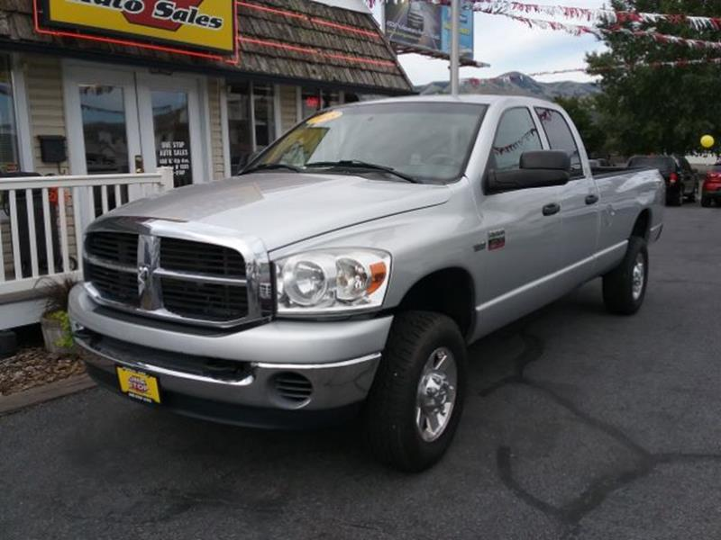 2008 Dodge Ram Pickup 2500 In Blackfoot Id One Stop Auto Sales