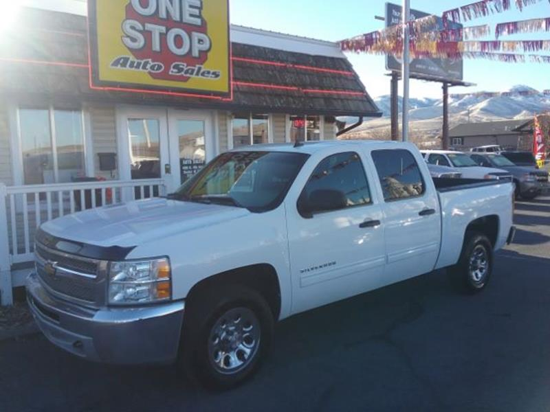 2013 Chevrolet Silverado 1500 Ls In Pocatello Id One Stop Auto
