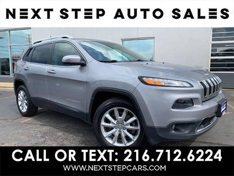 Used Cars Cleveland >> 2016 Jeep Cherokee For Sale In Cleveland Oh