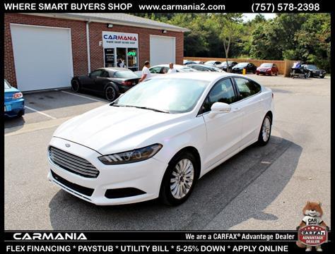 2013 Ford Fusion Hybrid for sale in Chesapeake, VA