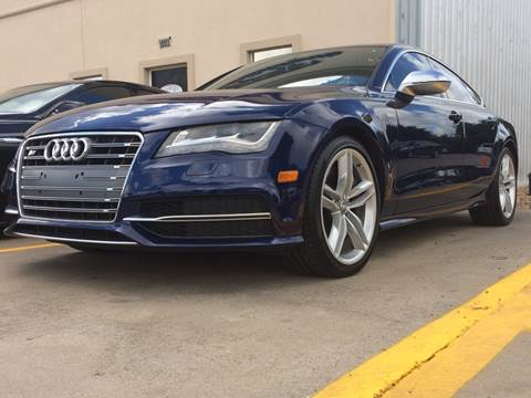 Audi S For Sale In Texas Carsforsalecom - Audi s7 for sale