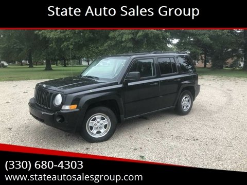 Patriot Auto Sales >> Jeep Patriot For Sale In Alliance Oh State Auto Sales Group