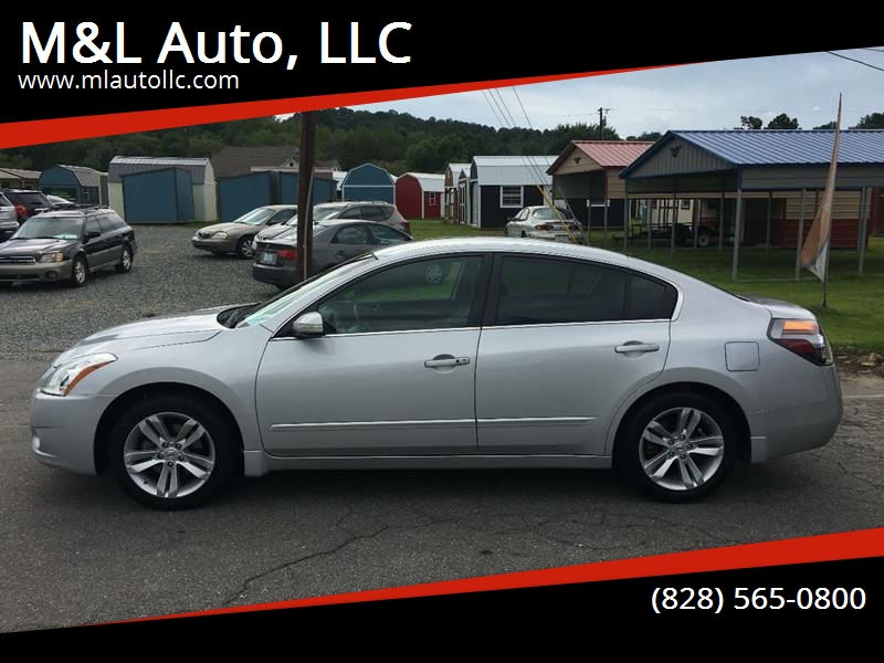 2011 Nissan Altima For Sale At Mu0026L Auto, LLC In Clyde NC