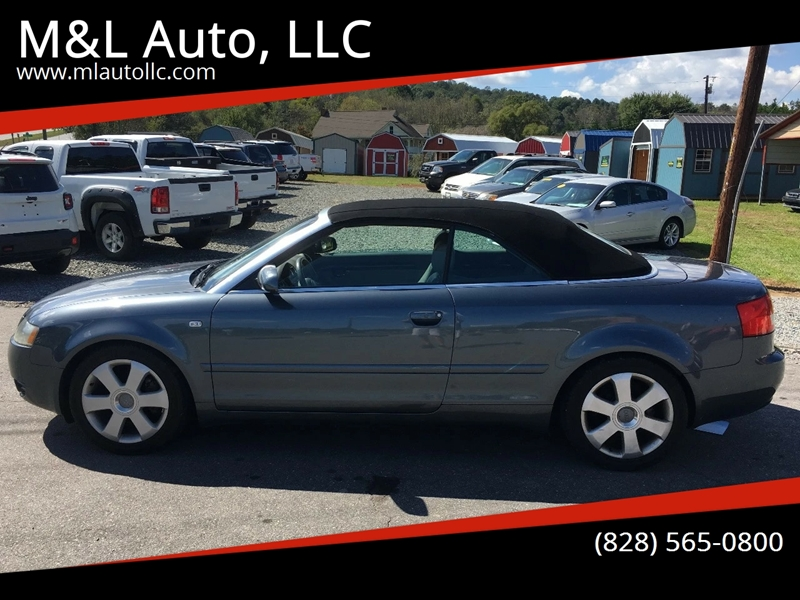 Audi A T In Clyde NC ML Auto LLC - T and l auto