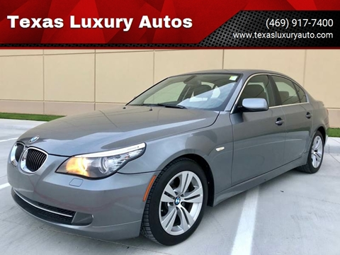2010 BMW 5 Series for sale at Texas Luxury Auto in Cedar Hill TX