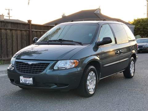 2004 Chrysler Town and Country for sale at ZaZa Motors in San Leandro CA