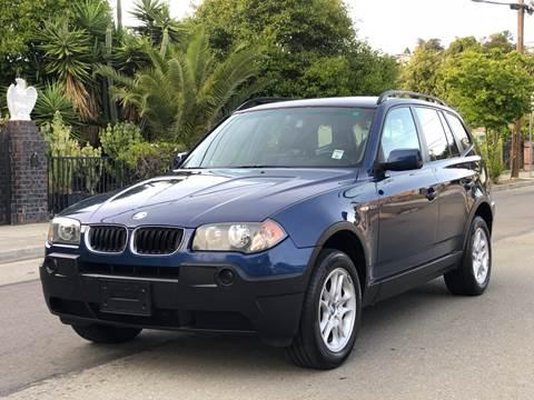 2005 BMW X3 for sale at ZaZa Motors in San Leandro CA