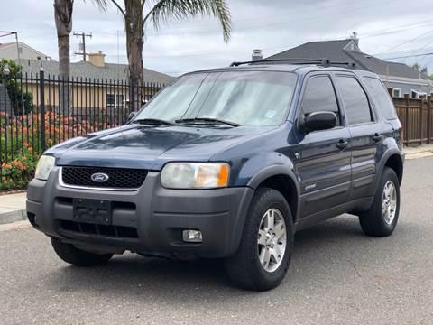 2001 Ford Escape for sale at ZaZa Motors in San Leandro CA
