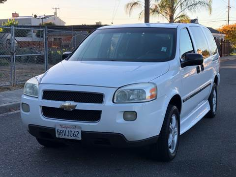 2005 Chevrolet Uplander for sale at ZaZa Motors in San Leandro CA
