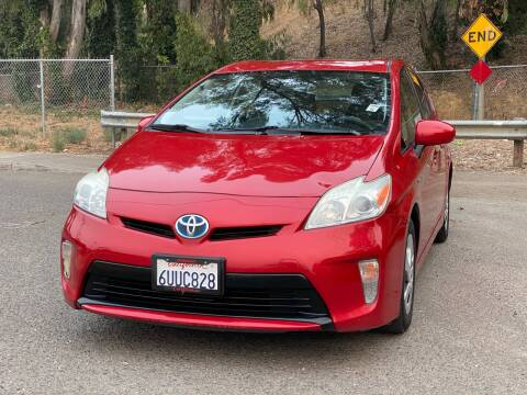 2012 Toyota Prius for sale at ZaZa Motors in San Leandro CA