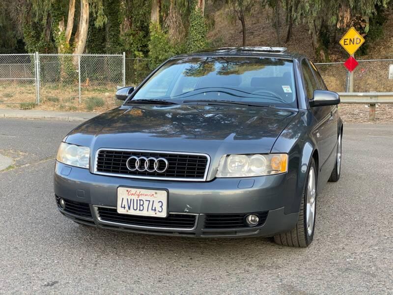 2002 Audi A4 for sale at ZaZa Motors in San Leandro CA