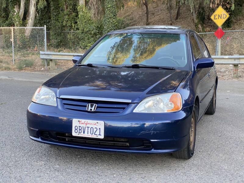 2001 Honda Civic for sale at ZaZa Motors in San Leandro CA