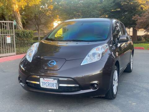 2016 Nissan LEAF for sale at ZaZa Motors in San Leandro CA