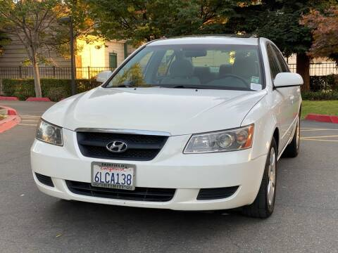 2008 Hyundai Sonata for sale at ZaZa Motors in San Leandro CA