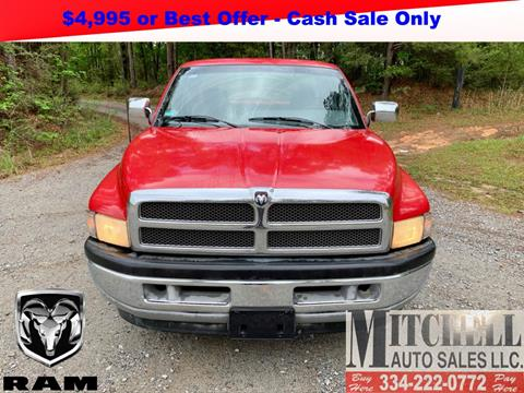1997 Dodge Ram Pickup 1500 for sale at Mitchell Auto Sales LLC in Andalusia AL