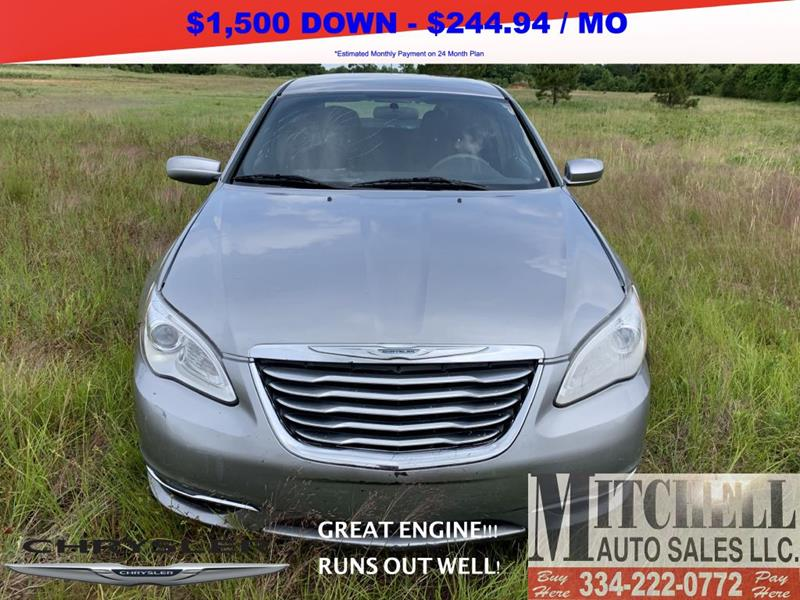 2013 Chrysler 200 for sale at Mitchell Auto Sales LLC in Andalusia AL