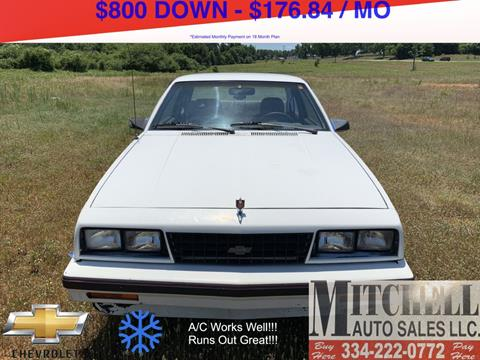 1987 Chevrolet Cavalier for sale at Mitchell Auto Sales LLC in Andalusia AL