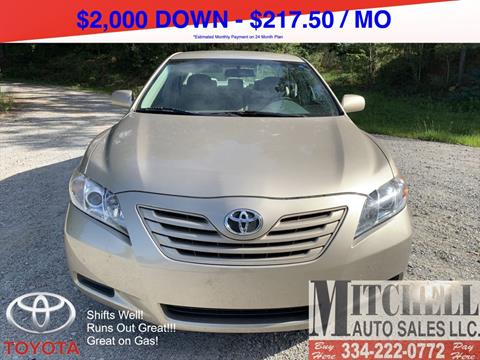 2008 Toyota Camry for sale at Mitchell Auto Sales LLC in Andalusia AL