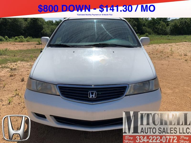 2000 Honda Odyssey for sale at Mitchell Auto Sales LLC in Andalusia AL
