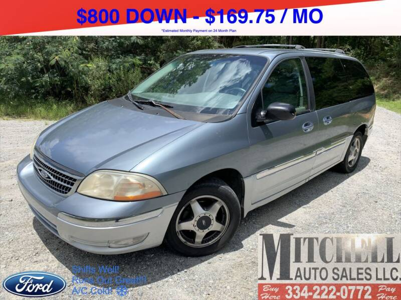 2000 Ford Windstar for sale at Mitchell Auto Sales LLC in Andalusia AL