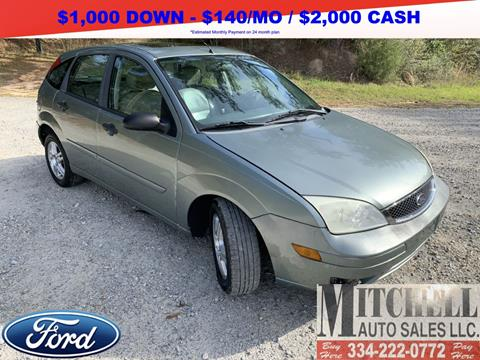 2006 Ford Focus for sale at Mitchell Auto Sales LLC in Andalusia AL
