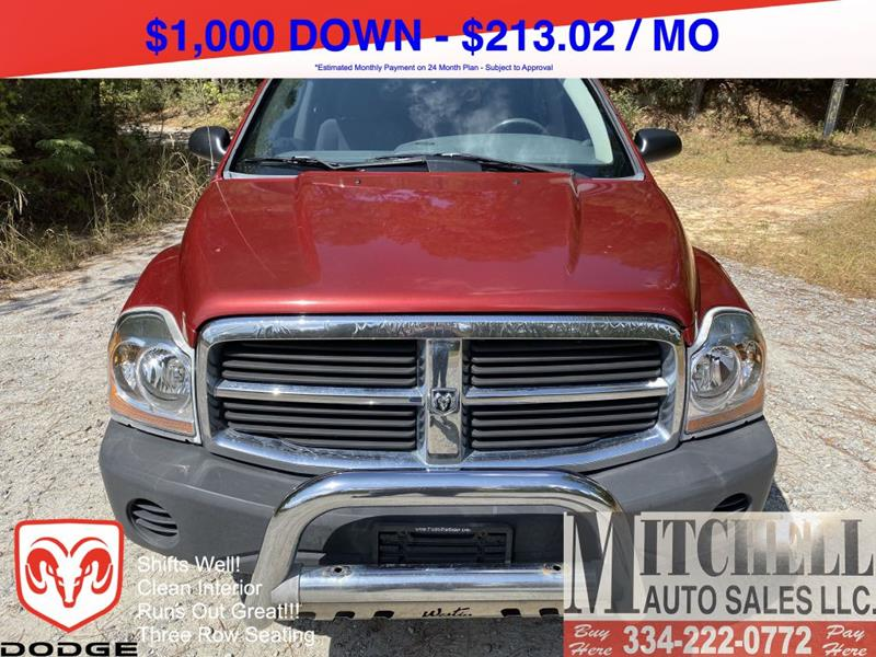 2006 Dodge Durango for sale at Mitchell Auto Sales LLC in Andalusia AL