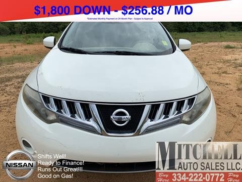 2009 Nissan Murano for sale at Mitchell Auto Sales LLC in Andalusia AL
