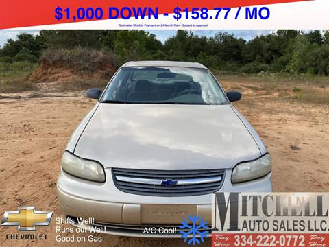 2004 Chevrolet Classic for sale at Mitchell Auto Sales LLC in Andalusia AL